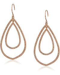 Vera Bradley - Whisper Links Double Drop Earrings - Lyst