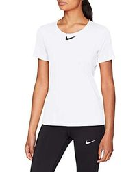 Nike PRO all-Over-Mesh - Bianco