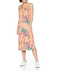 Tommy Hilfiger Floral Print Halterneck Dress - Pink