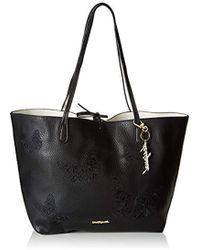Desigual Bols_ayla Butter Capri Mujer Shoppers y bolsos de hombro Negro 28x13x30 cm (B x H x T)