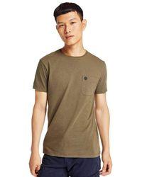 Timberland T-Shirt pour Vert TB0A1LPGA58