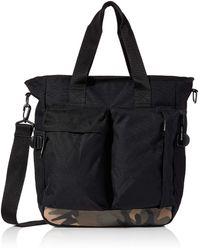 Superdry Commuter Tote 's Top-handle Bag - Black