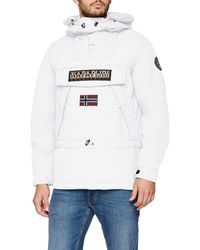 Napapijri Skidoo Jacket - White