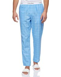 Calvin Klein Sleep Pant Pyjamaunterteil - Blau