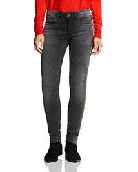 Street One Slim Jeans - Grau