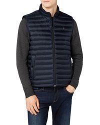 Tommy Hilfiger Core LW Packable Down Vest Chaleco - Azul