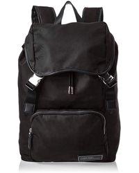 Calvin Klein Primary Backpack W Flap - Noir