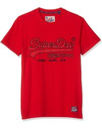 Superdry - Downhill Racer Applique Tee T-Shirt - Lyst