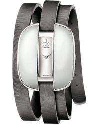 Calvin Klein - Montre - Quartz Analogique - Bracelet Cuir - Lyst