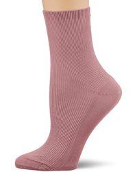 Tommy Hilfiger Th Short Sock 1p Small Rib Calf - Pink