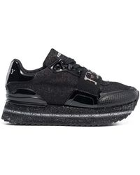 Replay - Lace Up Sneakers Black in Size 36 - Lyst