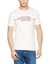 7cbb57735fe Tommy Hilfiger - T-shirt With Logo - Exclusively For Amazon - Lyst