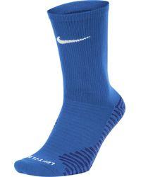 Nike Squad Crew Calzini - Blu