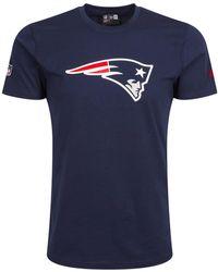 adidas New England Patriots T-shirt S T Shirt - Blue