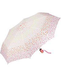 Esprit Ombrello tascabile Easymatic Light Ditsy Florals Multicolore Colore: arancione. 97 cm
