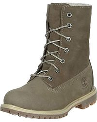 Timberland Auth Teddy Fleece WP Taupe - Verde