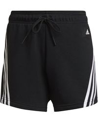 adidas Short Femme Sportswear Future Icons 3-stripes - Black