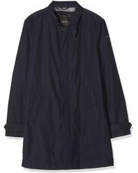 Geox M Bayle Coat - Blue