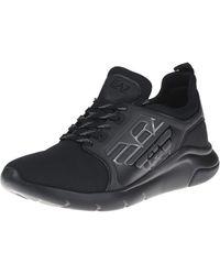 Emporio Armani 40 - Sneaker - Schwarz