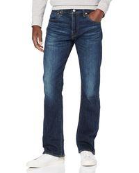 Levi's 527 Slim Boot Cut Jeans - Blue