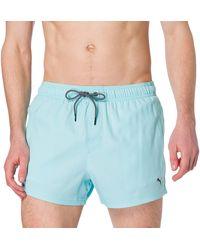 PUMA Short Length Swim Shorts Costume a Pantaloncino - Blu