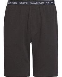 Calvin Klein Sleep Short Pantaloni Pigiama - Nero