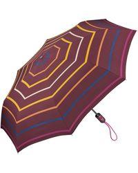 Esprit Parapluie de poche Easymatic Light Flower Rain - Violet