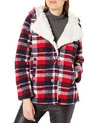 Steve Madden Fashion Alternative Coat - Red