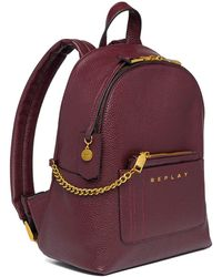 Replay Backpack Burgundy - Red