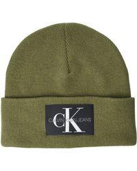 Calvin Klein Beanie Gorro/Sombrero - Azul