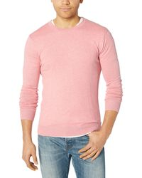 Scotch & Soda Cotton-Cashmere Sweater Pullover - Pink