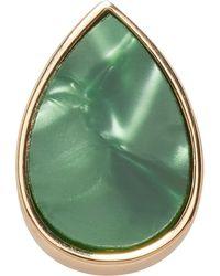 Crocs™ Green Marble Tear Drop - Verde