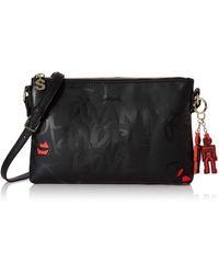 Desigual 's 19waxpca Cross-body Bag - Black