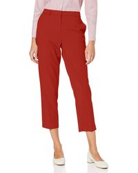 Dorothy Perkins Aw19 Indian Summer Rust Ag Trousers - Red
