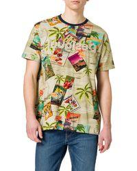 Desigual TS_Caton T-Shirt - Marron