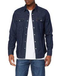 Levi's Barstow Western Standard Camisa - Azul