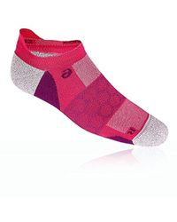 Asics Road Neutral Ped Single Tab Running Socks - Pink