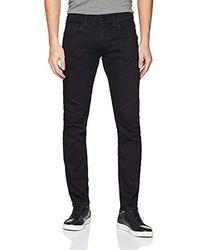 Wrangler Bryson Jeans Skinny Uomo - Nero