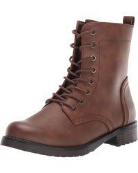 Amazon Essentials Collins Combat Boot - Brown