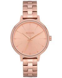 Nixon - Medium Kensington Bracelet Watch - Lyst