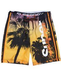 Superdry Camo Logo Tarp Backpack Shorts - Multicolour