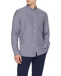Lacoste Ch4976 Dress Shirt - Blue