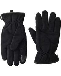 Timberland Nubuck Leather Glove - Black