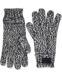 Superdry Stockholm Gloves (black Grit Nkm)