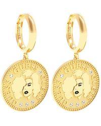 Guess Orecchini donna gioielli trendy cod. UBE79156 - Metallizzato