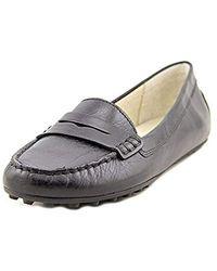 60798ca3919cb Michael Daisy Moc Black Vachetta Loafer 9.5m