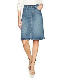 Levi's Sa-line Midi Skirt Skirt - Blue