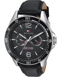 Tommy Hilfiger Watch Erik Reloj 1791369 - Schwarz