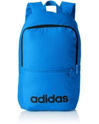adidas - Mixte adulte Linear Classic Daily Sac a dos Bleu - Lyst