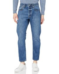 Superdry Frankie Relaxed Loose Fit Jeans - Blue